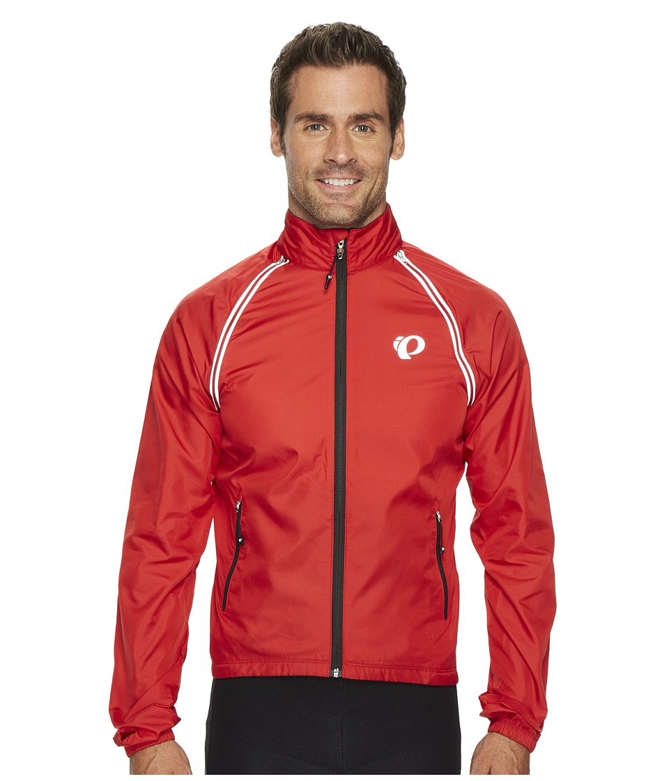 Pearl Izumi - Elite Barrier Convertible Cycling Jacket (True Red) Men's Coat