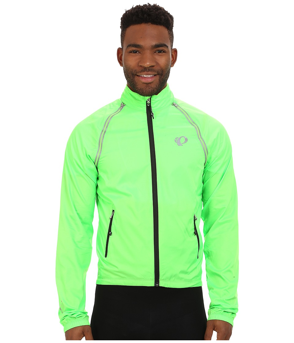 Pearl Izumi - Elite Barrier Convertible Cycling Jacket (Screaming Green) Men's Coat