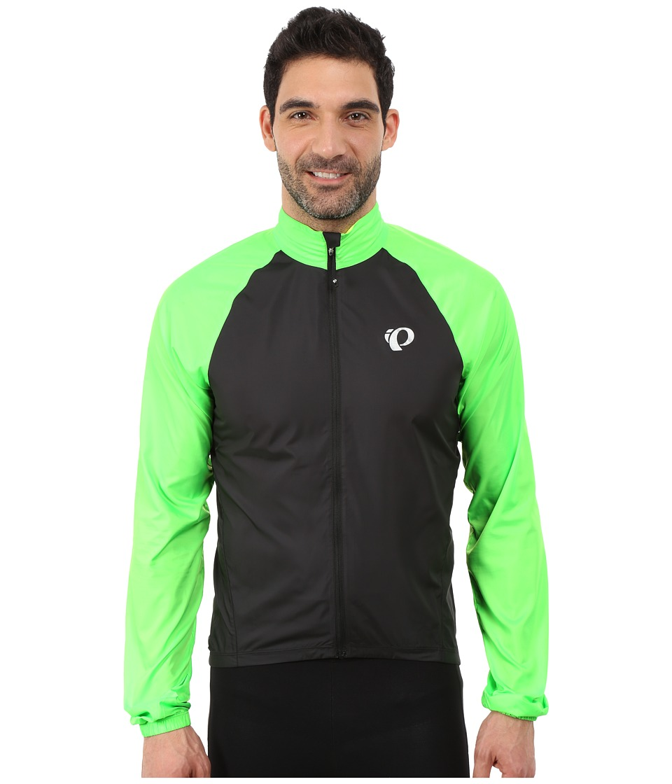 Pearl Izumi - ELITE Barrier Cycling Jacket (Black/Screaming Green) Men's Coat