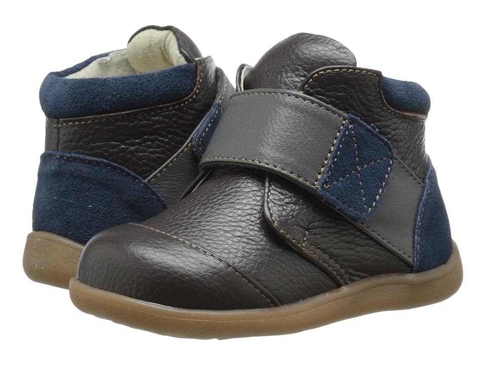 See Kai Run Kids - Sawyer (Toddler) (Brown) Boys Shoes