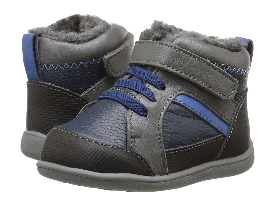 See Kai Run Kids - Doug (Toddler) (Navy) Boy's Shoes