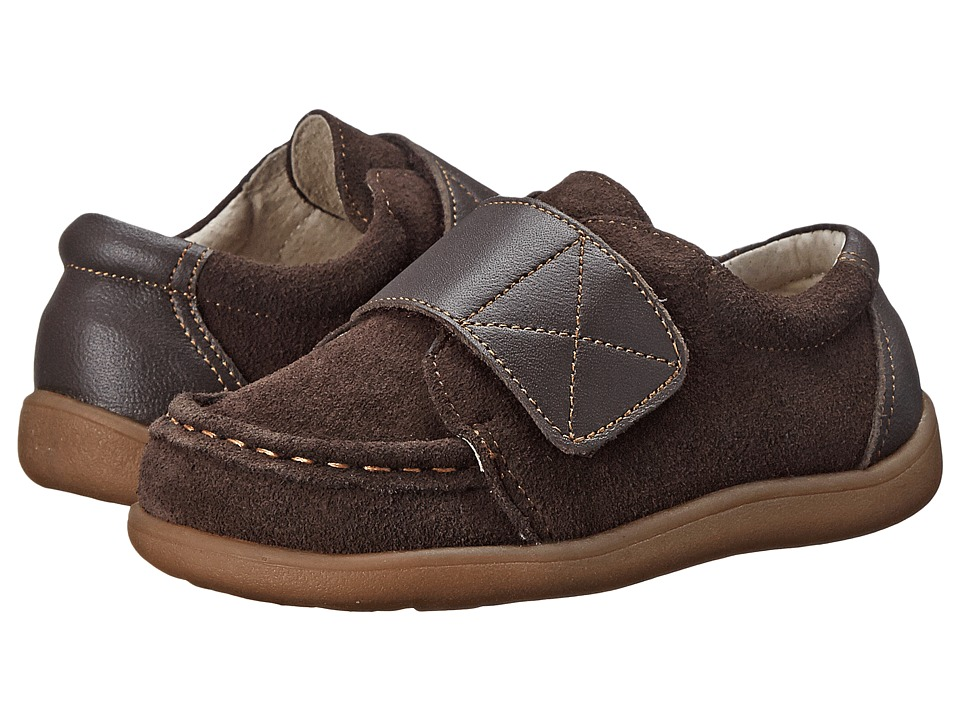 See Kai Run Kids - Walter (Toddler) (Brown) Boys Shoes