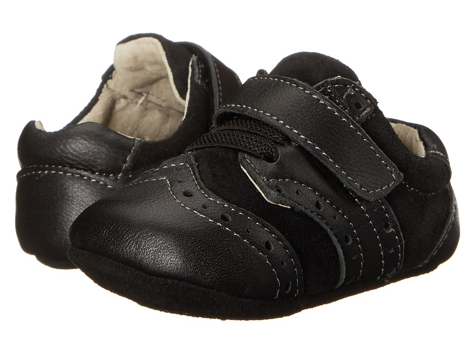 See Kai Run Kids - Abe (Infant) (Black) Boys Shoes