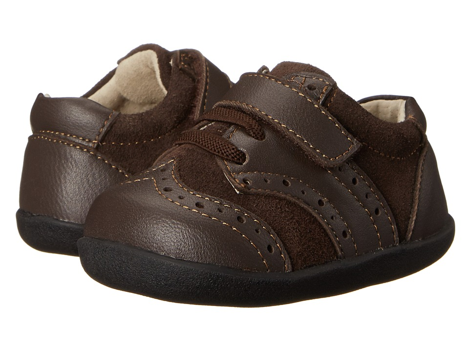 See Kai Run Kids - Clinton (Infant/Toddler) (Brown) Boys Shoes