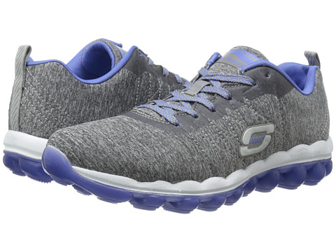 SKECHERS - Skech-Air - Sunset Groove (Gray Purple) Women's Shoes