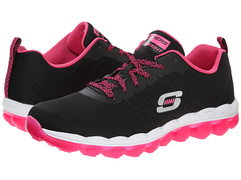 SKECHERS - Skech-Air - Sunset Groove (Black Pink) Women's Shoes