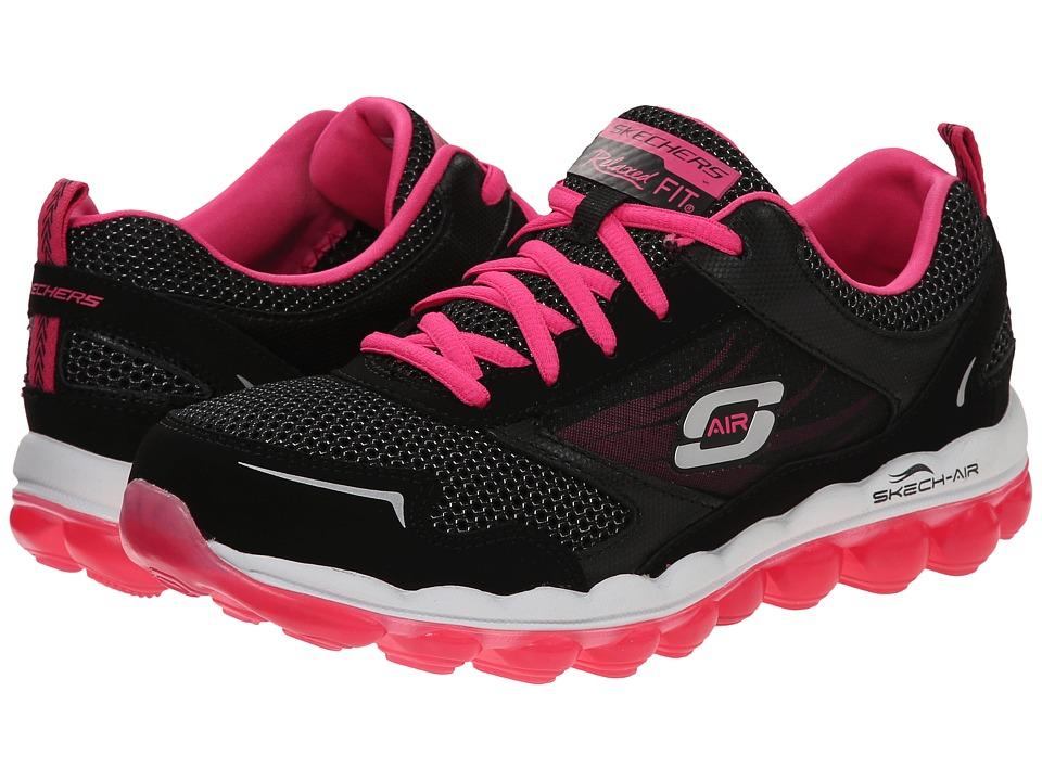 SKECHERS - Skech-Air 2.5 (Black Pink) Women's Shoes