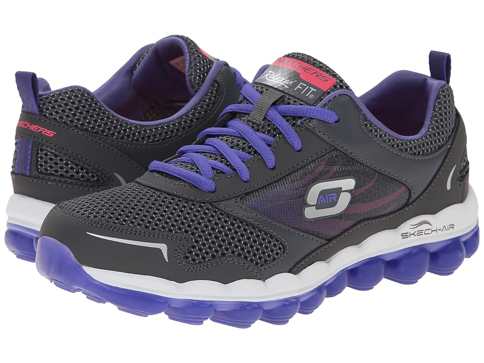 SKECHERS - Skech-Air 2.5 (Gray Purple) Women's Shoes