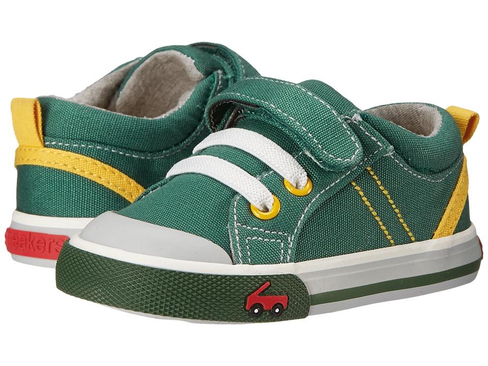See Kai Run Kids - Tanner (Toddler) (Green) Boy's Shoes