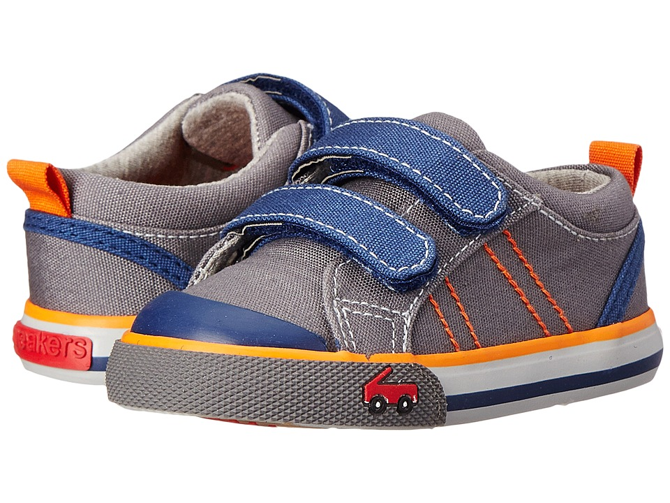 See Kai Run Kids - Aiden (Toddler) (Gray) Boys Shoes