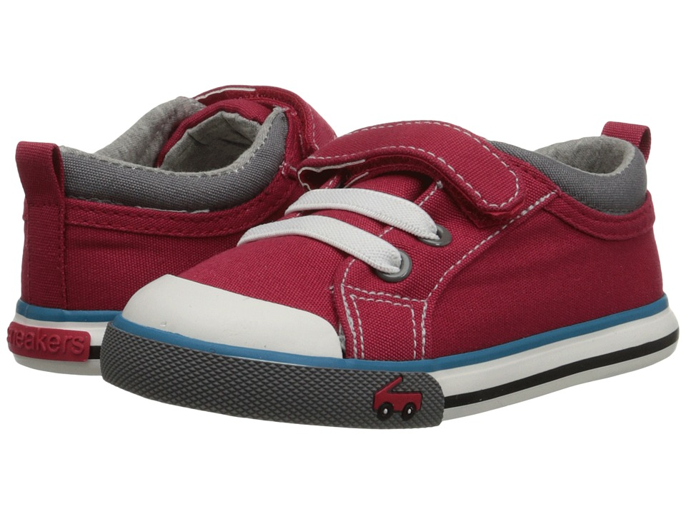 See Kai Run Kids - Stevie (Toddler) (Red) Boy