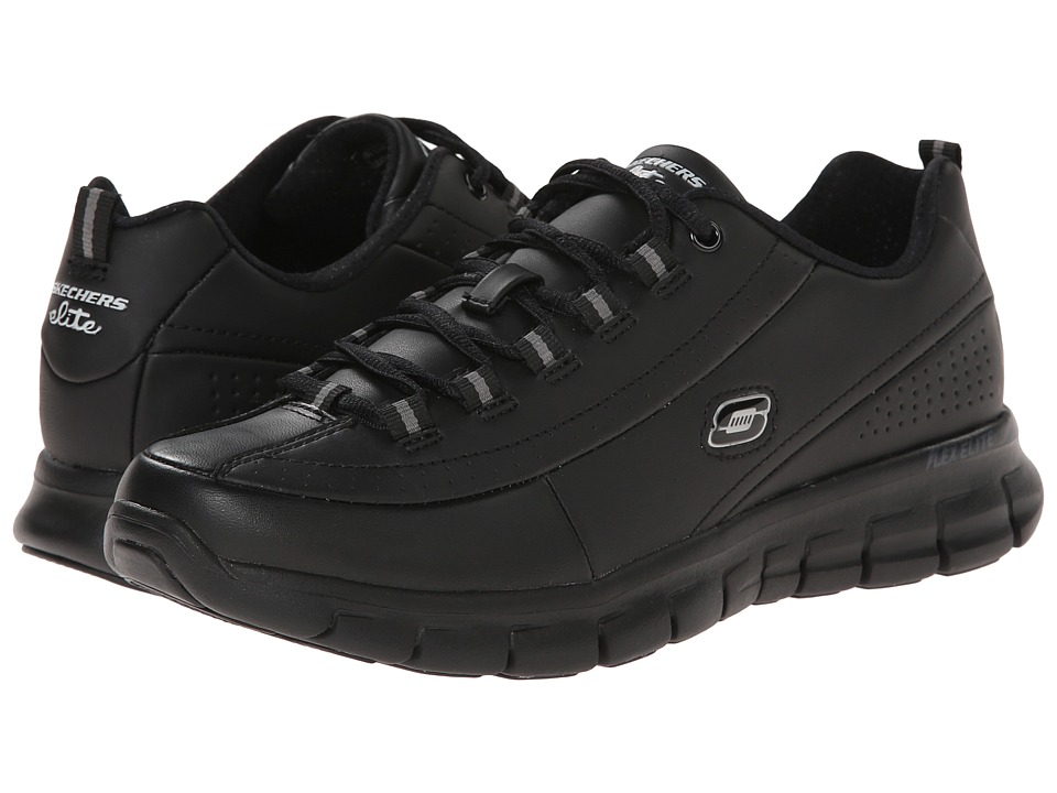 SKECHERS - Synergy - Elite Caliber (Black) Women's Shoes