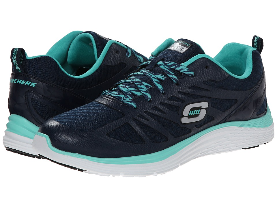UPC 885788997991 product image for SKECHERS - Valeris - Flying High (Navy  Turquoise) Women's