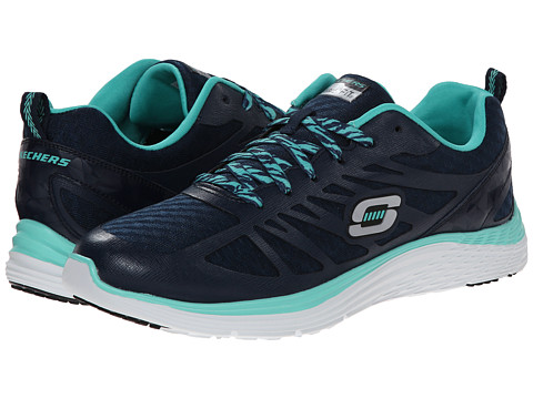 SKECHERS - Valeris - Flying High (Navy Turquoise) Women