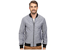 DKNY Jeans Coated Chambray Bomber Jacket