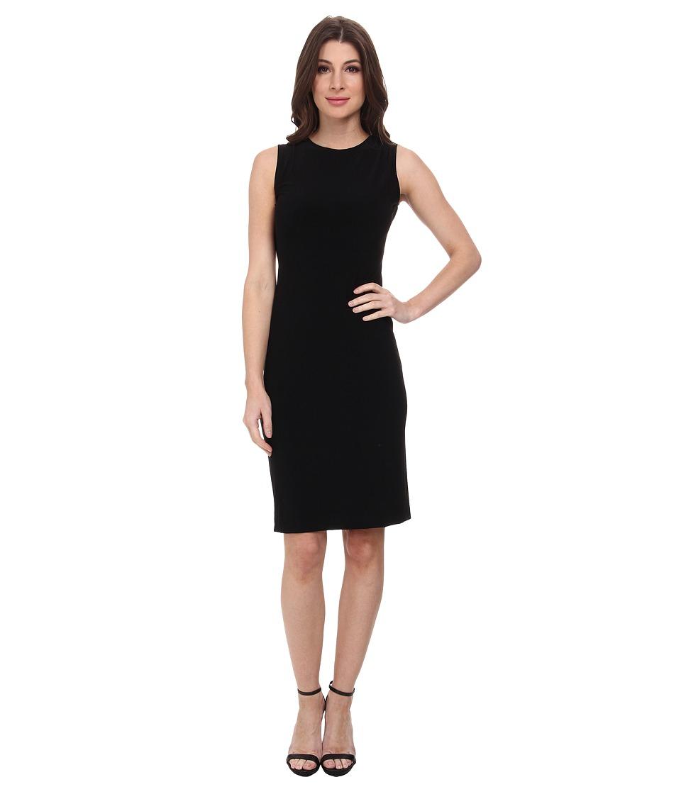 KAMALIKULTURE by Norma Kamali - Sleeveless Open Back Dress (Black) Women's Dress