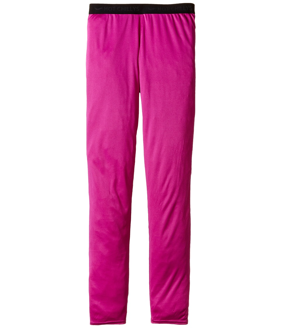 Hot Chillys Kids - Peach Bottom (Little Kids/Big Kids) (Candyland Plum) Girl's Casual Pants