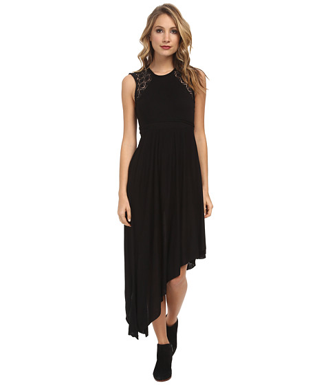 Free People - Afternoon Delight Dress (Black) Women