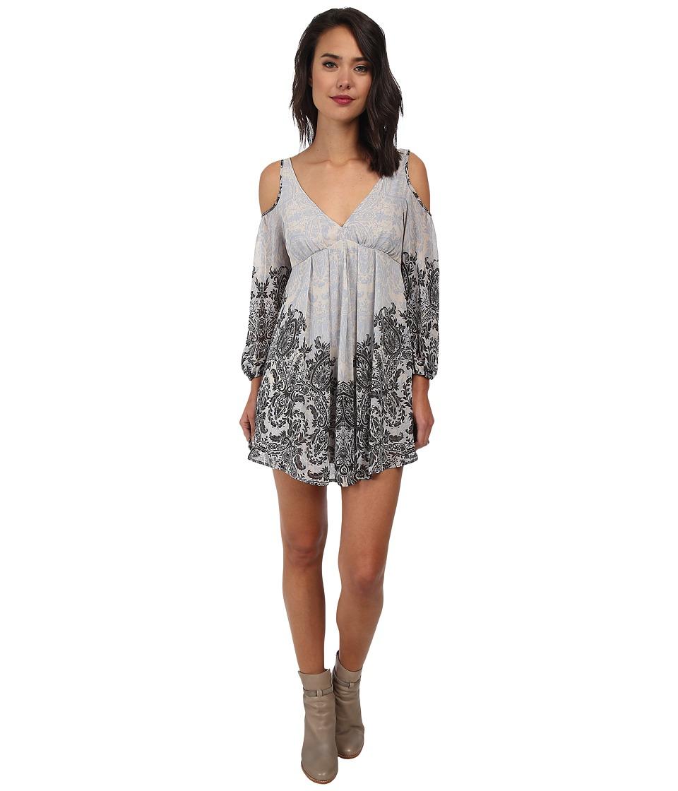 Free People - Penny Lover Mini Dress (Ivory Combo) Women's Dress