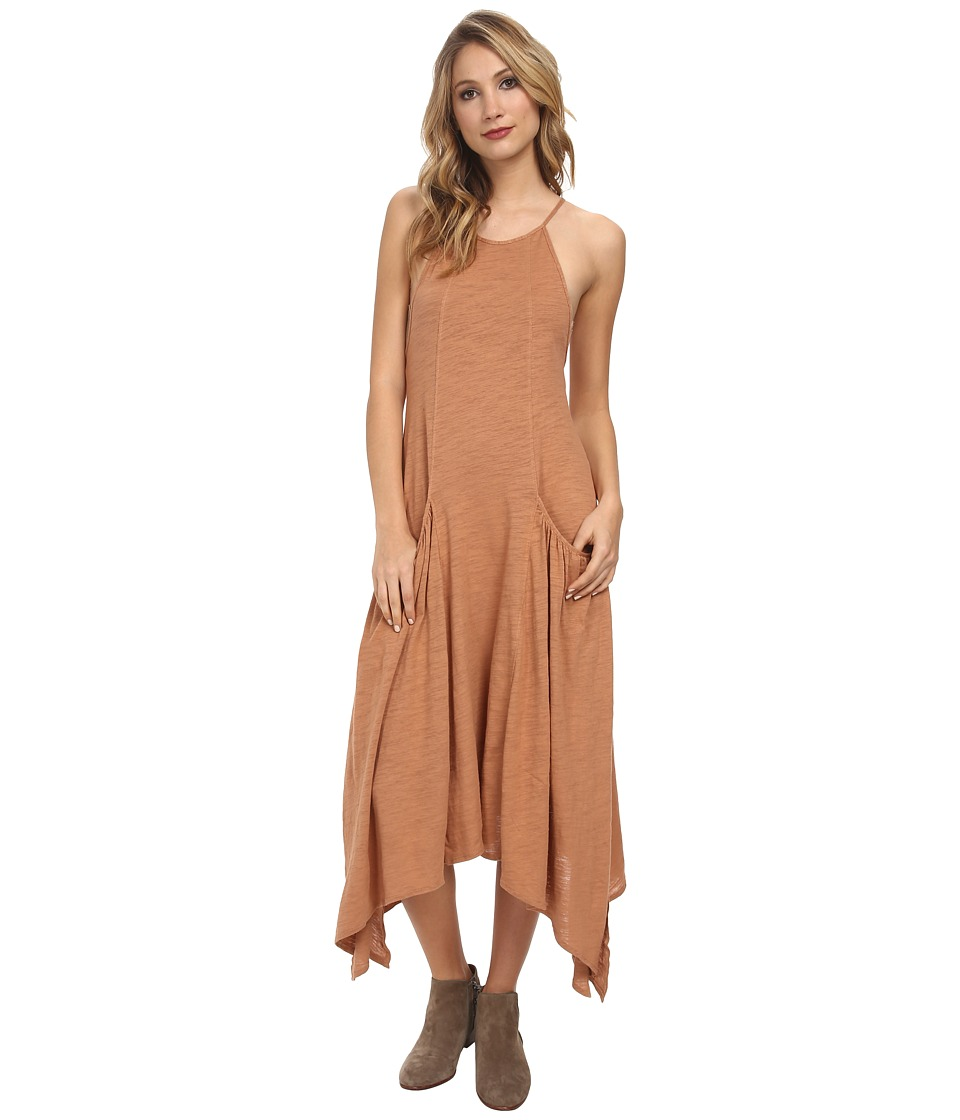 Free People - Softly Apron Dress (Sunkissed) Women's Dress