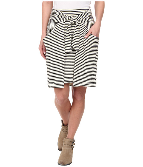 Free People - All Tied Up Skirt (Cream Combo) Women