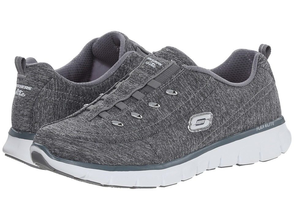 SKECHERS - Synergy - Positive Outcome (Gray) Women's Shoes