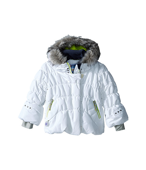 Obermeyer Kids - Everlee Jacket (Toddler/Little Kids/Big Kids) (White) Girl's Coat