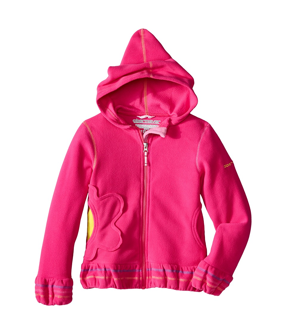 Obermeyer Kids - Poppy Fleece Zip Hoodie (Toddler/Little Kids/Big Kids) (Wild Pink) Girl's Sweatshirt