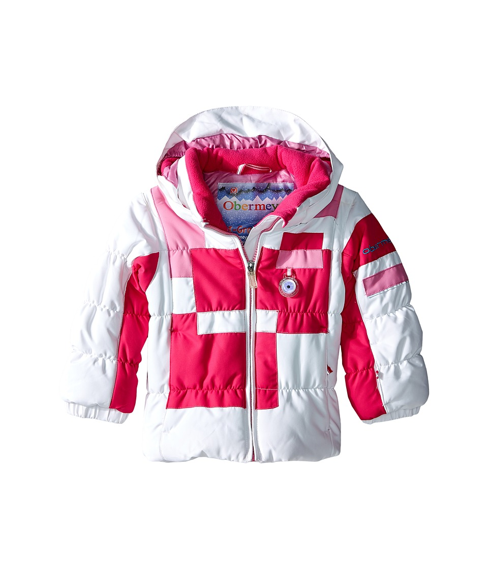 Obermeyer Kids - Kitt Jacket (Toddler/Little Kids/Big Kids) (Wild Pink) Girl's Coat