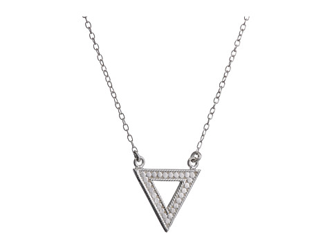 Anna Beck - Triangle Necklace (Sterling Silver) Necklace