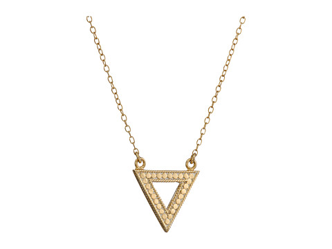 Anna Beck - Triangle Necklace (Sterling Silver/18K Gold Vermeil) Necklace