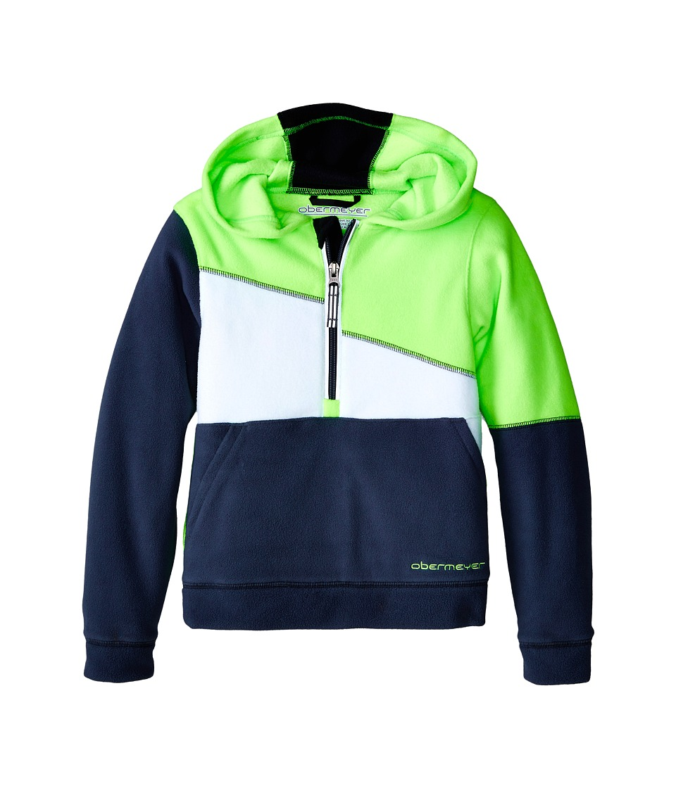 Obermeyer Kids - Cruiser Fleece Top (Toddler/Little Kids/Big Kids) (Glowstick) Boy's Fleece