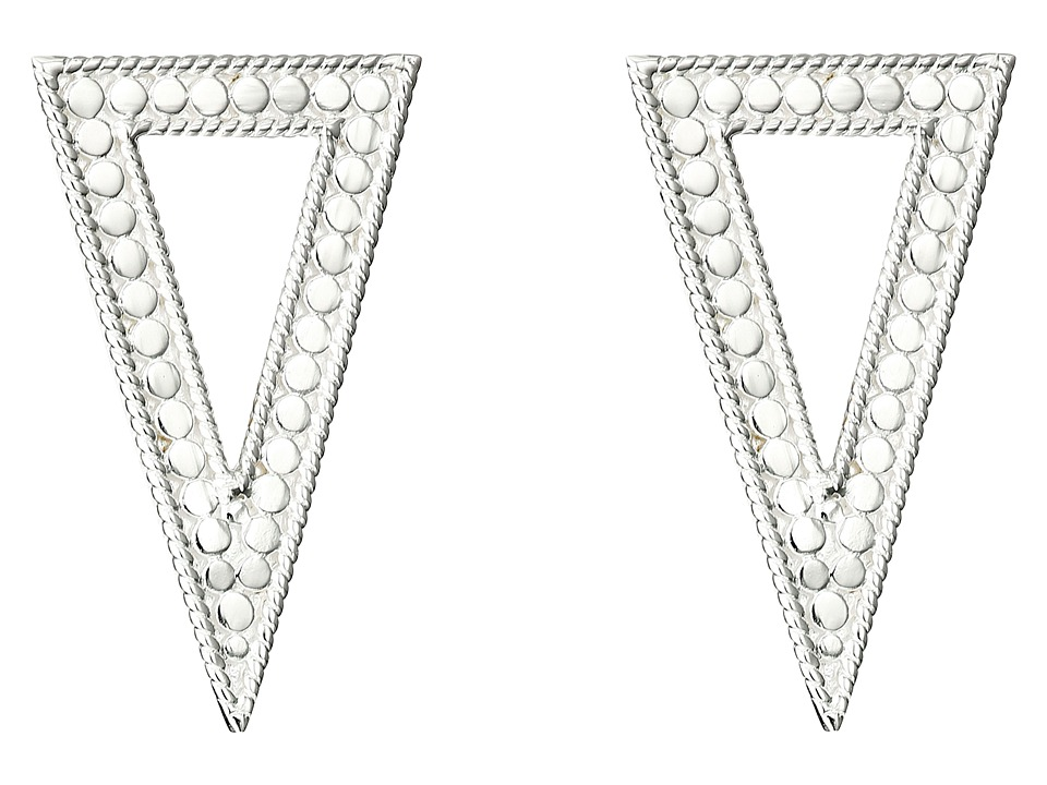 Anna Beck - Triangle Post Earrings (Sterling Silver) Earring