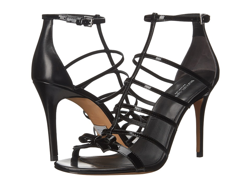 Michael Kors Blythe (Black Patent/Smooth Calf) High Heels