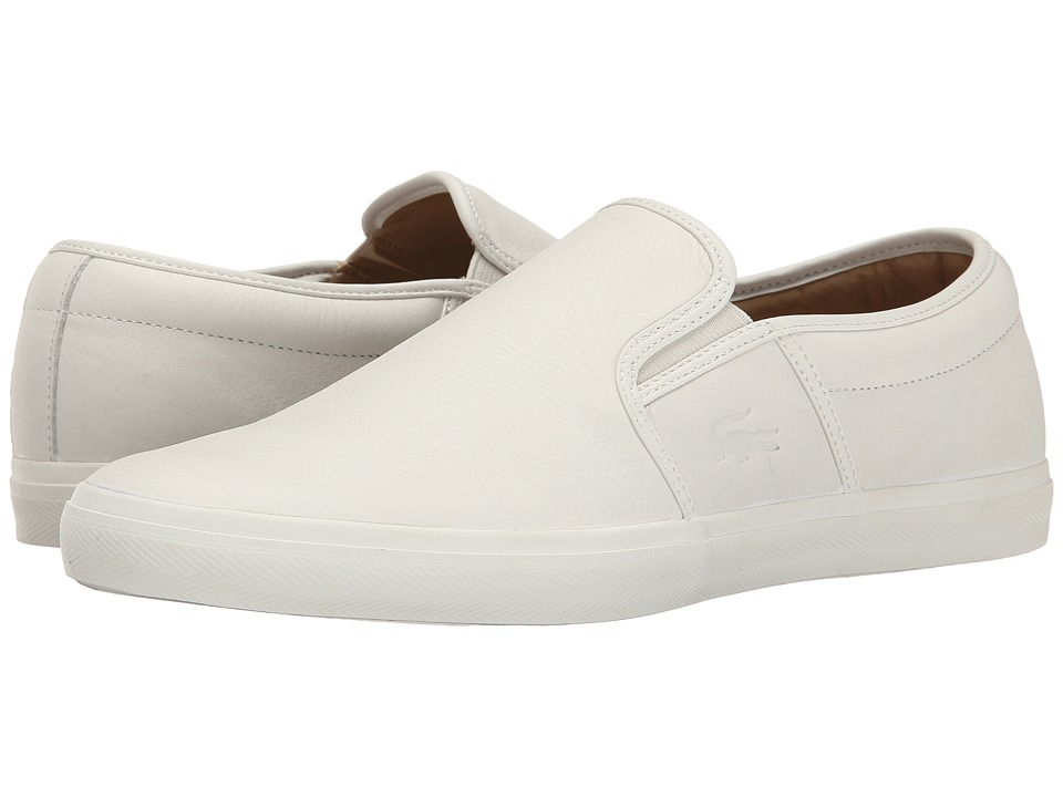 Lacoste - Gazon 8 (Off White) Men's Shoes