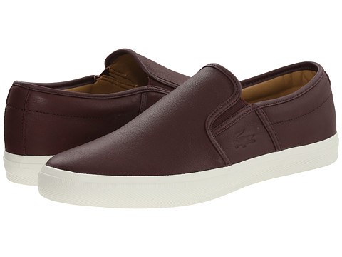 Lacoste - Gazon 8 (Dark Brown) Men's Shoes