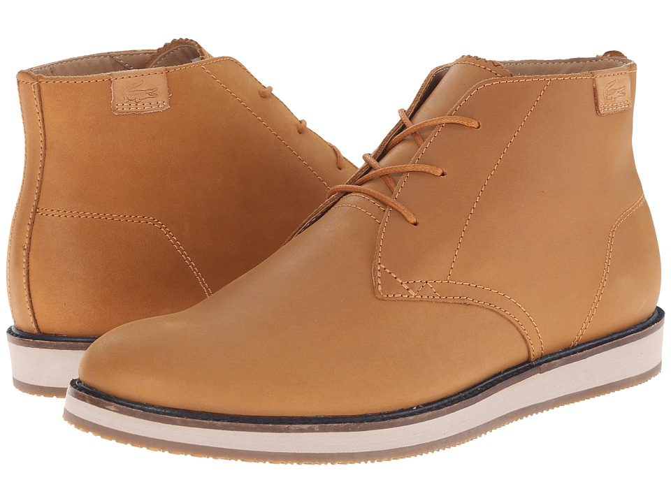 Lacoste - Millard Chukka (Tan) Men's Lace-up Boots