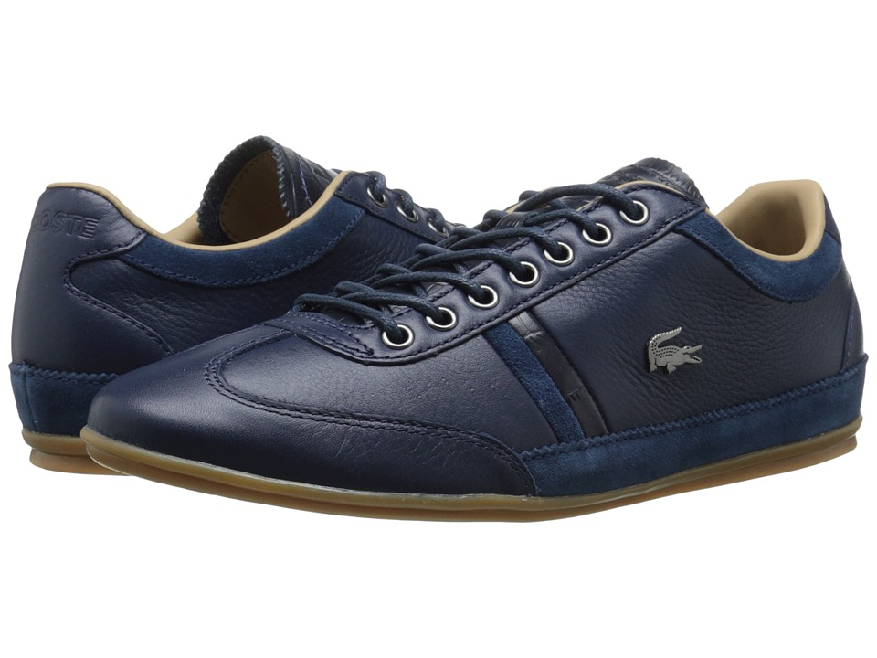 Lacoste - Misano 36 (Navy) Men's Shoes