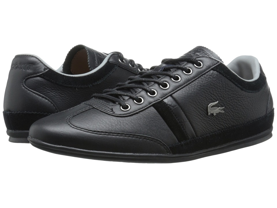Lacoste - Misano 36 (Black) Men's Shoes