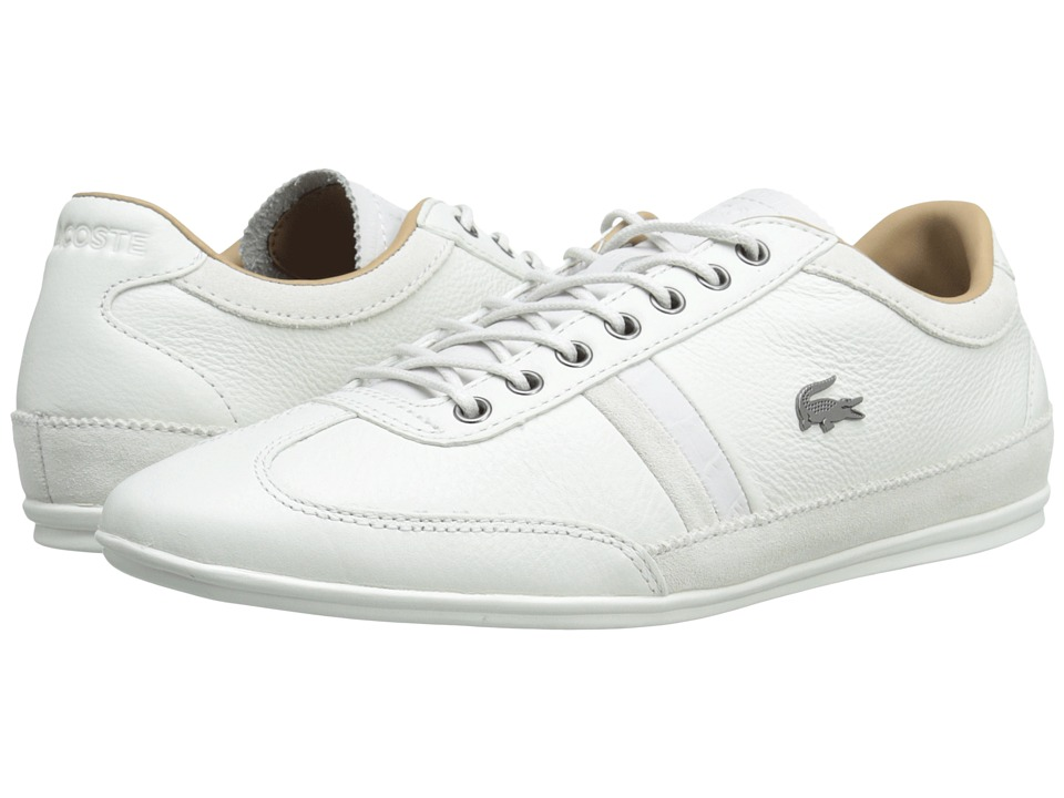 Lacoste - Misano 36 (Off White) Men's Shoes