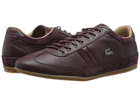 Lacoste - Misano 36 (Dark Brown) Men's Shoes