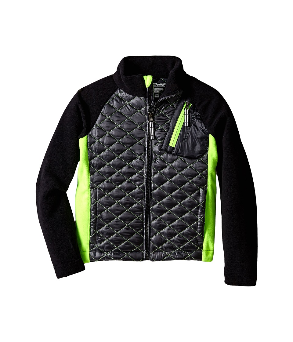 Obermeyer Kids - Supercross Hybrid Top (Toddler/Little Kids/Big Kids) (Ebony) Kid's Coat