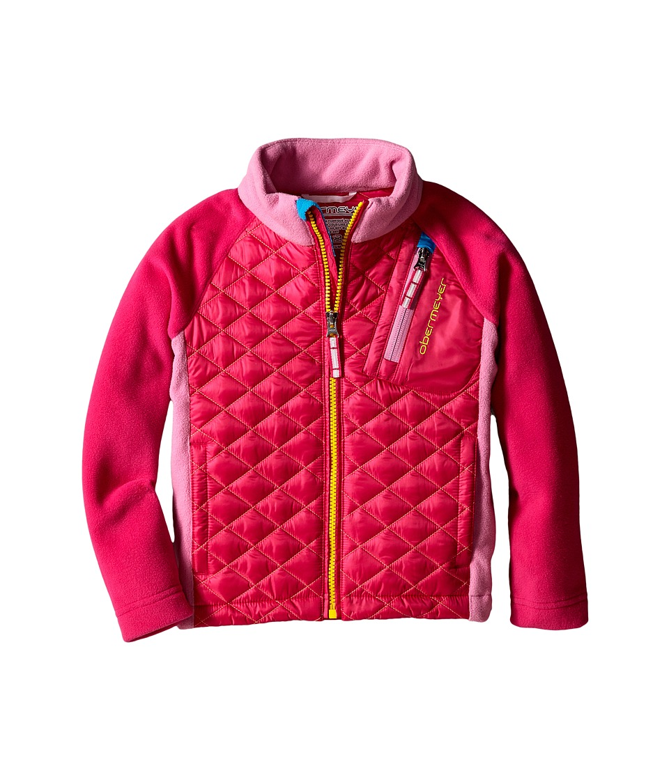 Obermeyer Kids - Supercross Hybrid Top (Toddler/Little Kids/Big Kids) (Wild Pink) Kid's Coat