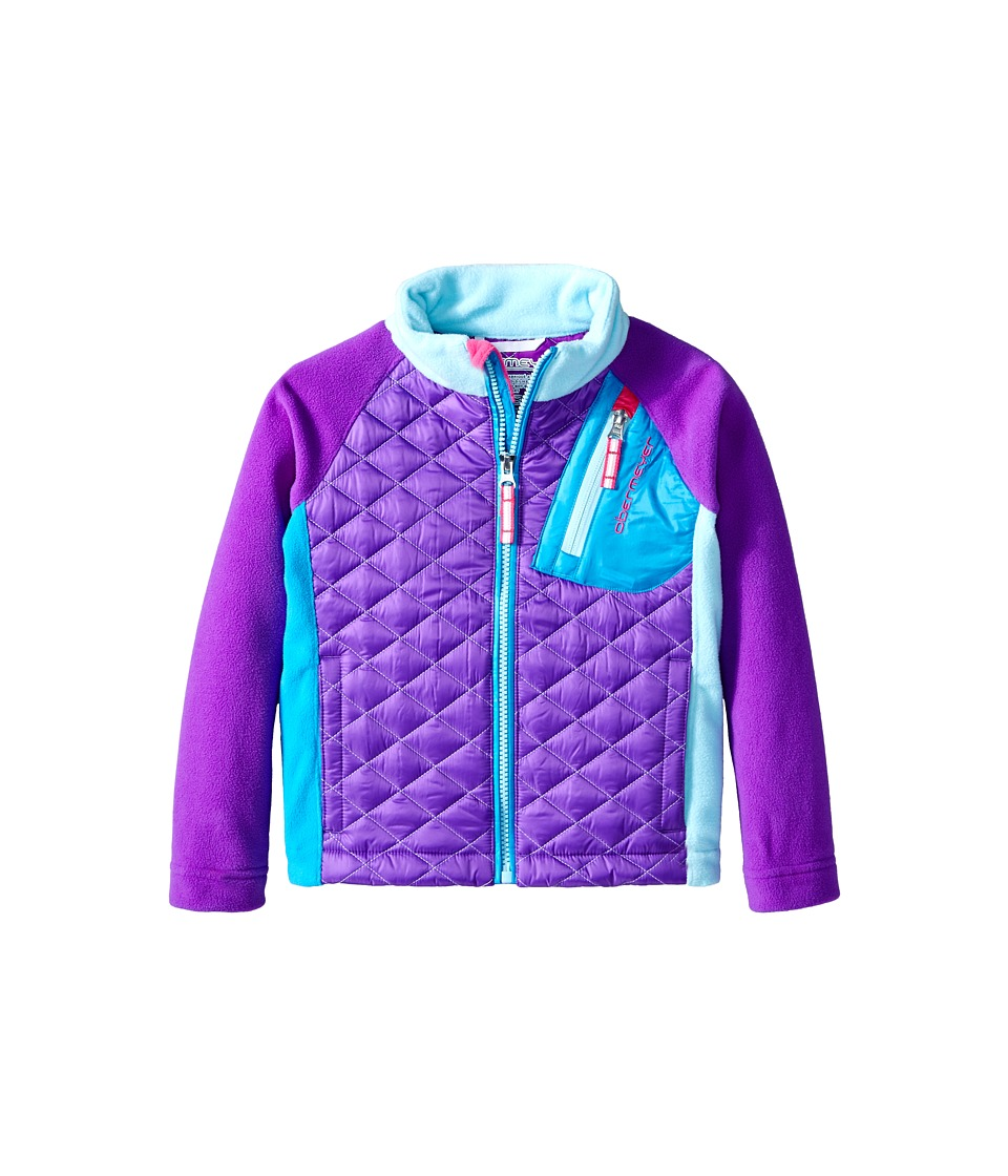 Obermeyer Kids - Supercross Hybrid Top (Toddler/Little Kids/Big Kids) (Iris Purple) Kid's Coat