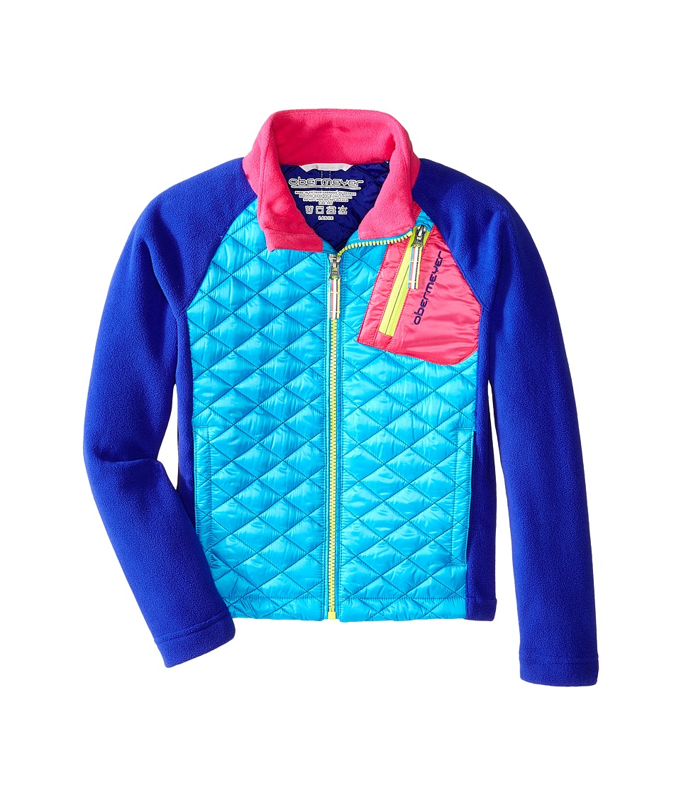 Obermeyer Kids - Supercross Hybrid Top (Toddler/Little Kids/Big Kids) (Regal Blue) Kid's Coat