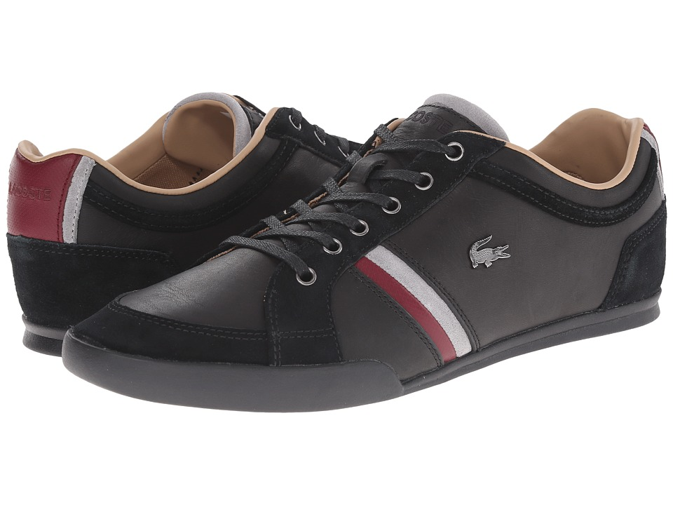Lacoste - Rayford 9 (Black) Men's Lace up casual Shoes