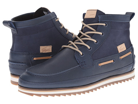 Lacoste - Sauville Mid 8 (Navy/Navy) Men's Lace-up Boots