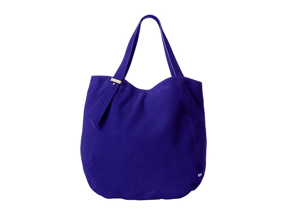 SJP by Sarah Jessica Parker - Bank (Blue Nubuck) Tote Handbags