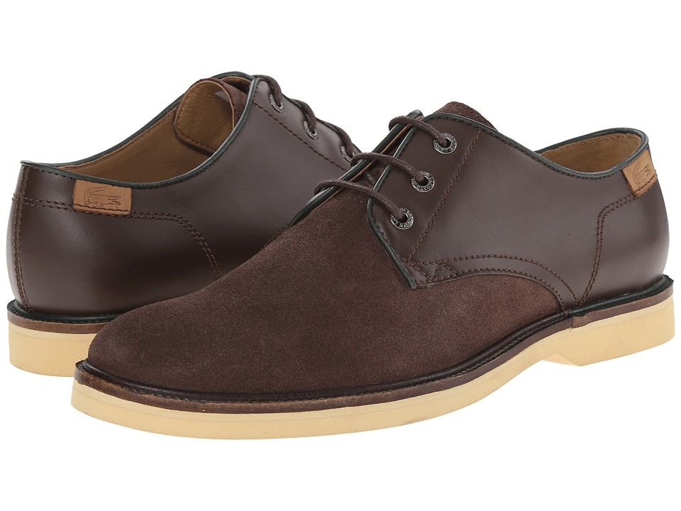 Lacoste - Sherbrooke 15 (Dark Brown) Men's Shoes