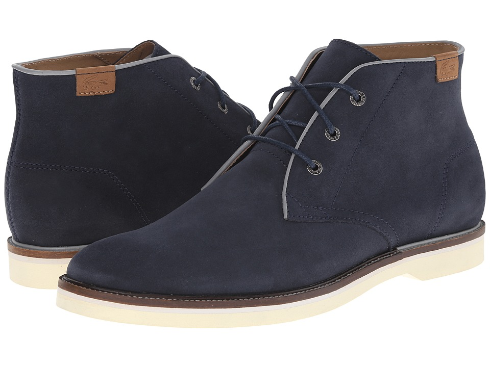 Lacoste - Sherbrooke Hi 14 (Navy) Men's Lace-up Boots